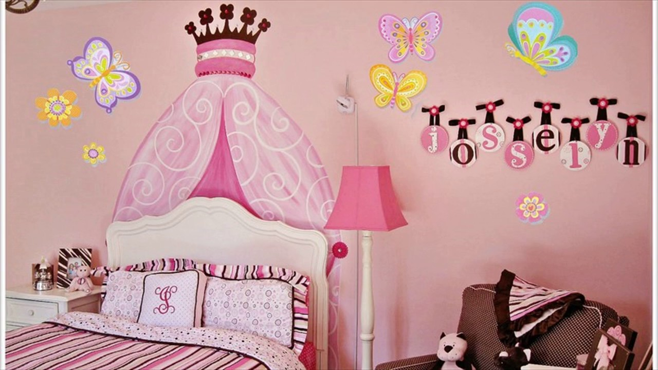Butterfly Wall Decals For Kids Rooms