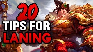 20 Tips for Laning as an ADC, Mid or Top Laner that are Lesser Known (League of Legends)