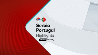 HIGHLIGHTS: Serbia v Portugal | FIFA World Cup European Qualifiers