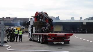 Tommy´s Kranbilar - Scania R500 V8