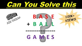 Crypt Arithmetic Problem #2   Hindi Tutorial   Csp In Ai   Solution Of Base + Ball = Games