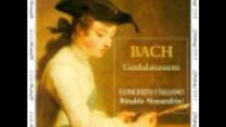 "Bach ""Triple Concerto in A minor BWV 1044"" (Concerto Italiano) 3/3"