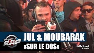 """Jul & Moubarak - Freestyle """"Sur le dos"""" [Part2] #PlanèteRap thumbnail"""