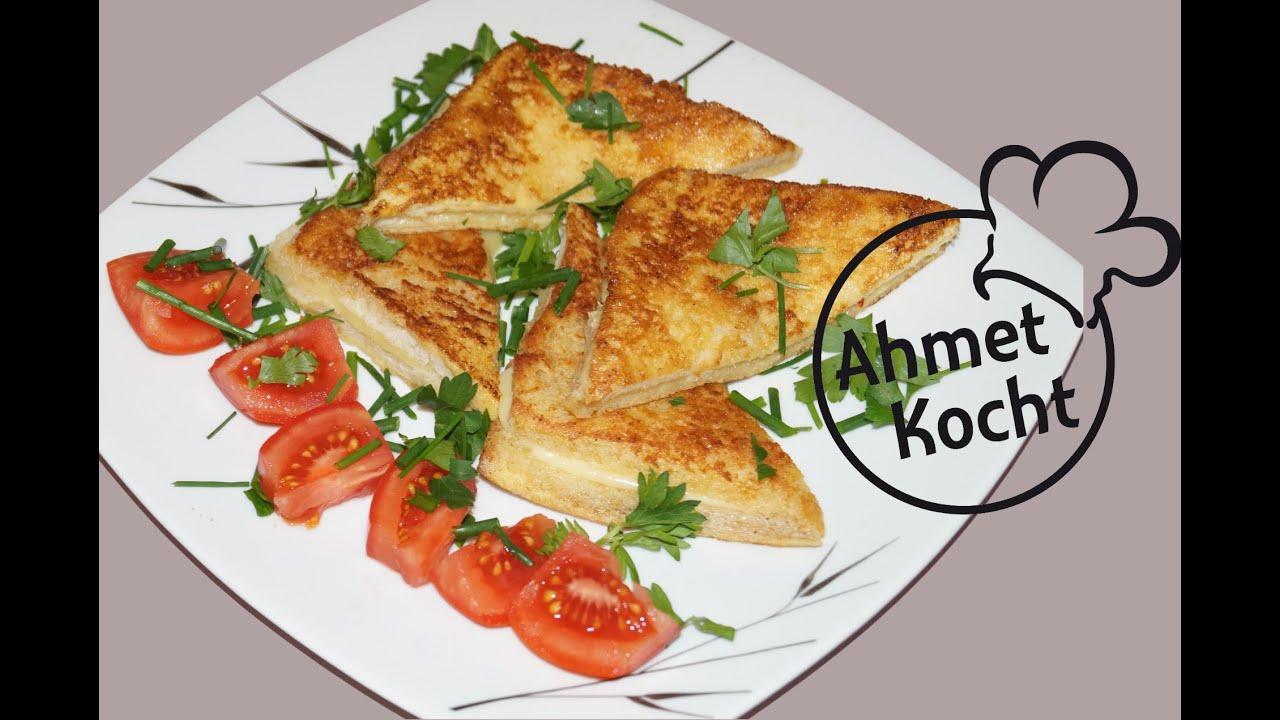 Rezept toast in der pfanne ahmetkocht kochen folge - Kann man reis in der mikrowelle kochen ...