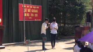 Thổi Sáo Chắc Ai Đó Sẽ Về tại Trường THPT Nam Khoái Châu