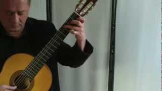 Ozzy Osbourne - Dreamer - classical guitar instrumental