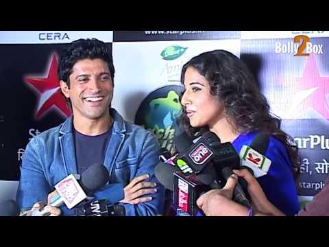Farhan Akhtar & Vidya Balan's Full Interview at nach Baliye 6 Finale