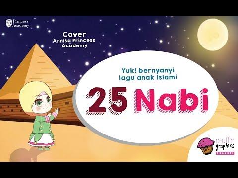 Lagu Anak Islami - 25 Nabi (Annisa Cover)