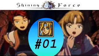 Let's play Shining Force Neo [01] Larcyle Fort