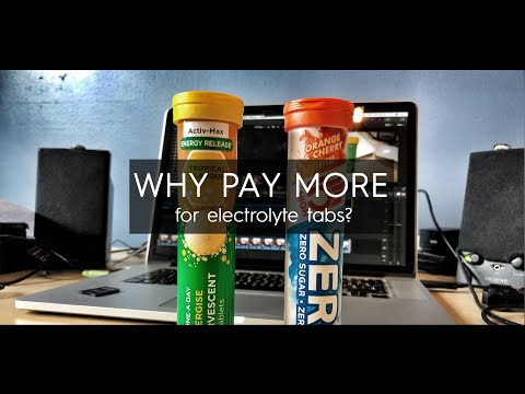 Why Pay More For Electrolyte Tablets?