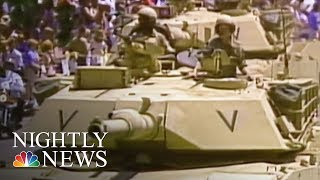 President Donald Trump's Proposed Military Parade Gets Mixed Reaction | NBC Nightly News