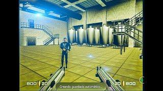 N64 Goldeneye 007 misión 2: Planta en agente y en español