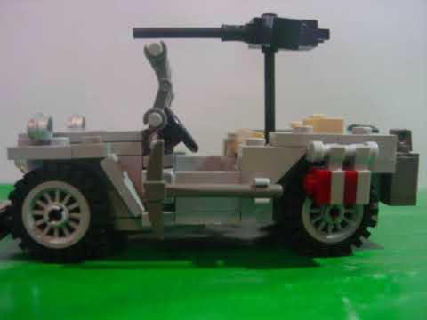 Moc By Jrriojase Lego Wwii Willys Jeep Youtube