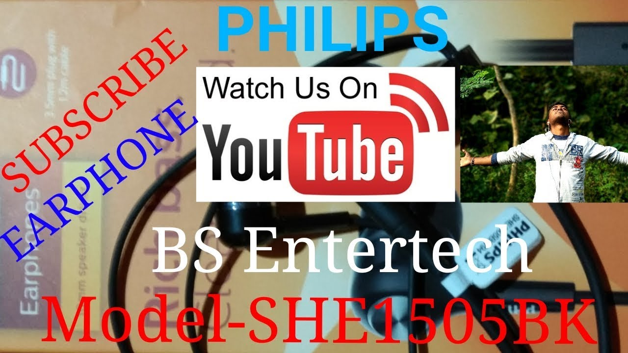 Philips She1505bk Earphone Unboxing And Hands On Review Youtube Jgos17 In Ear Headphone With Mic She1405 Black