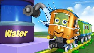 kartun untuk kanak-kanak - Thomas The Train Choo Choo Cartoon for Kids by Toy Factory