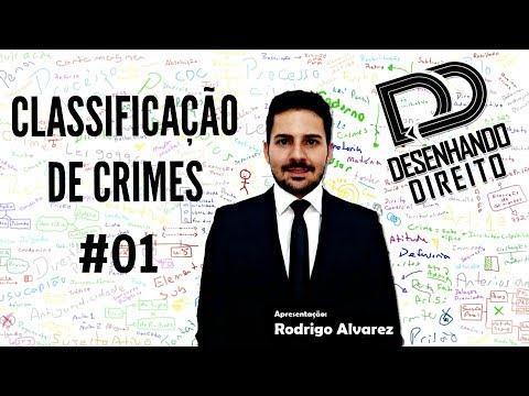 Direito Penal - Classificação de Crimes 01