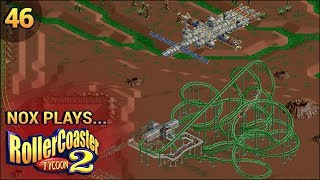 Nox Plays... Rollercoaster Tycoon 2: Time Twister | #46: Future - First Encounters, Pt. 2
