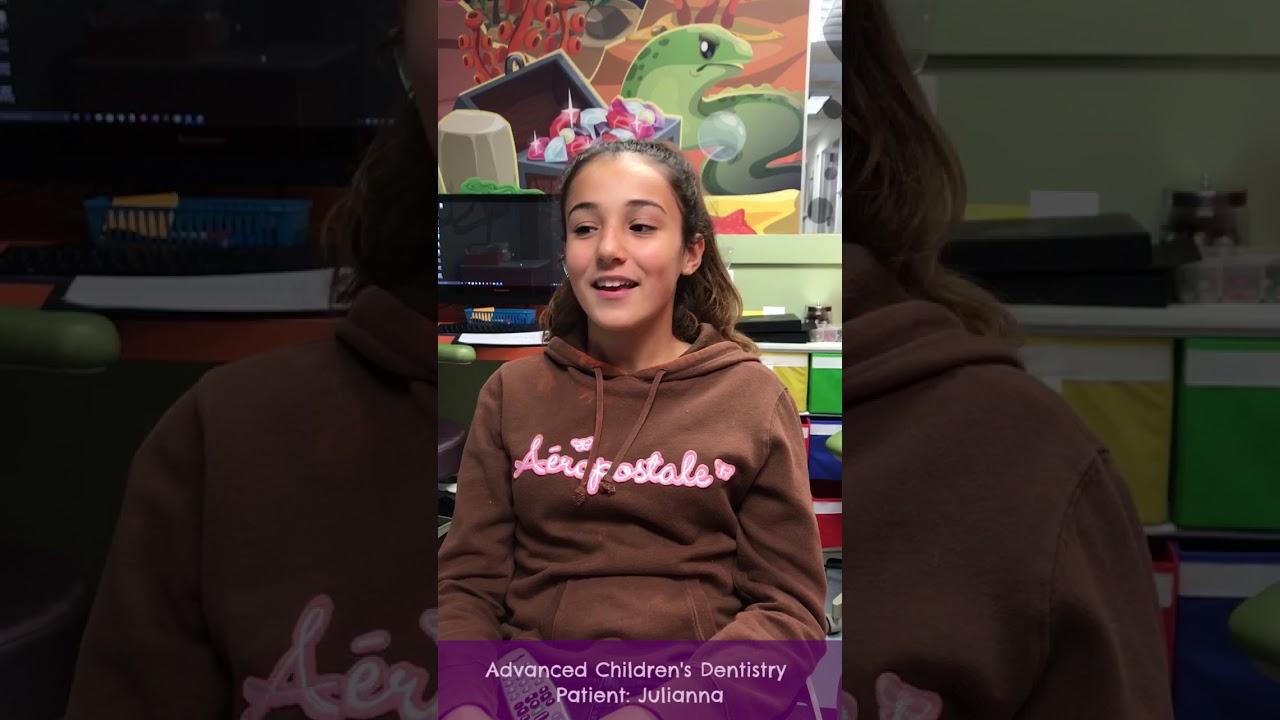 Advanced Children 39 S Dentistry Garden City Pediatric Dentist Julianna Video Testimonial Youtube