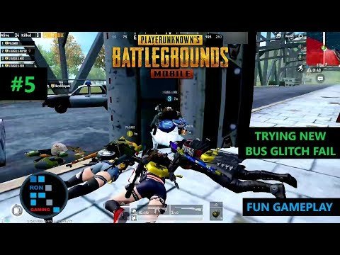[Hindi] PUBG MOBILE | TRYING NEW BUS GLITCH FAIL & FUN GAMEPLAY CHICKEN DINNER