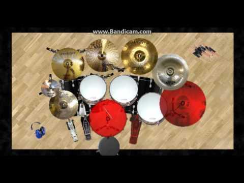 Parau - Evolusi Dua Serigala (Cover Virtual Drum) DVDRUM