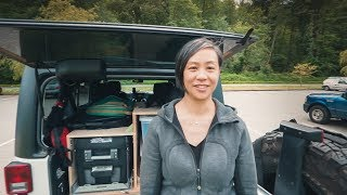 Our JEEP KITCHEN Seтup and Camp Essentials