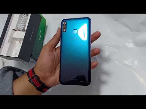 Infinix hote 8 lite unboxing and review