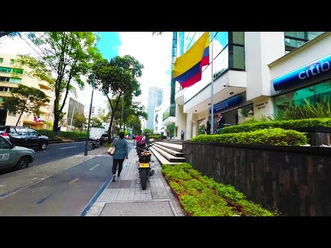 Bogotá Colombia - Walking from Parque 93 to Airbnb - August 2017 - Yi4K+