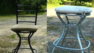 How To : Revamp Old Bar Stools