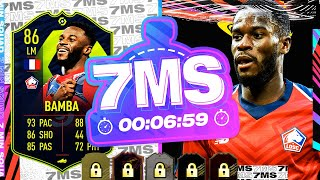 HUGE SBC! AMAZING 86 POTM BAMBA!! 7 MINUTE SQUAD BUILDER - FIFA 21 ULTIMATE TEAM