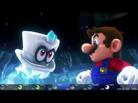 Super Mario Odyssey - World Peace Speedrun in 1:21:19 [World Record]