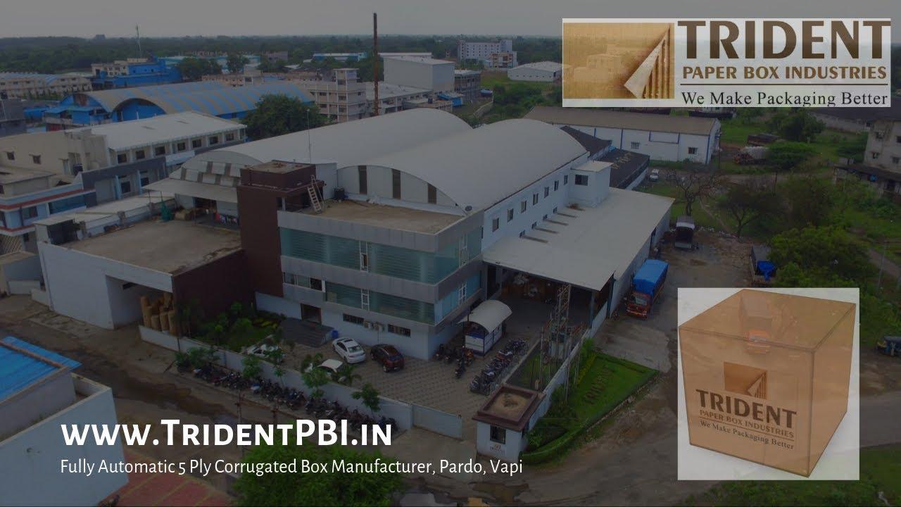 Trident Corrugated Box Manufacturer Exporter - 5 Ply Auto Plant in Pardi  Vapi Gujarat