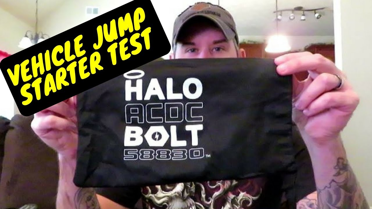 Halo Bolt Jump Starter Portable Charger Review