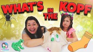 WHAT'S in the KOPF? Blind fühlen! Geschichten und Spielzeug