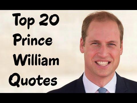 Top 20 Prince William Quotes || Duke of Cambridge