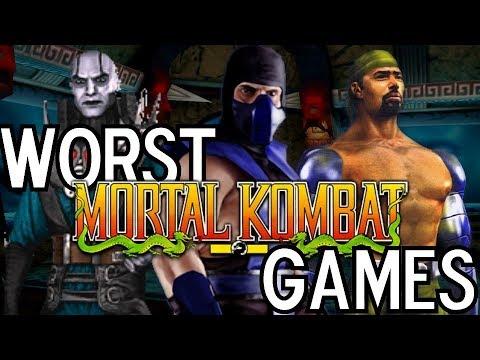 The 3 WORST Mortal Kombat Games thumbnail