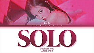 "Download [THE SHOW] JENNIE - ""SOLO"" (NEW RAP 2021 Remix) (Color Coded Lyrics 가사)"