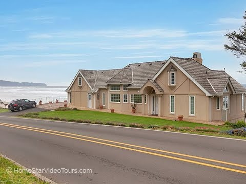 Spectacular Oceanfront home in Oceanside, Oregon ~ Video of 5395 Netarts