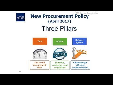 ADB Procurement (Pt 1) – full length presentation