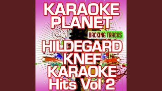 Geh fort von hier (Karaoke Version) (Originally Performed by Hildegard Knef)