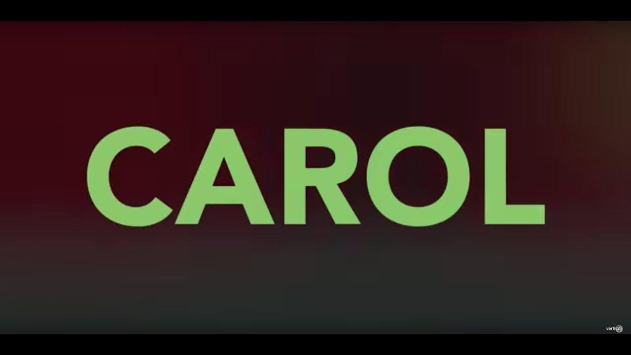 CAROL - Tráiler Español