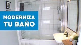 ¿Cómo modernizar y mantener  los muros del baño? thumbnail