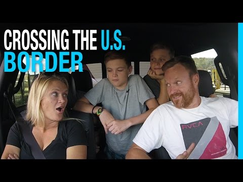 CROSSING THE US BORDER FROM MEXICO  RVING MEXICO EP 50