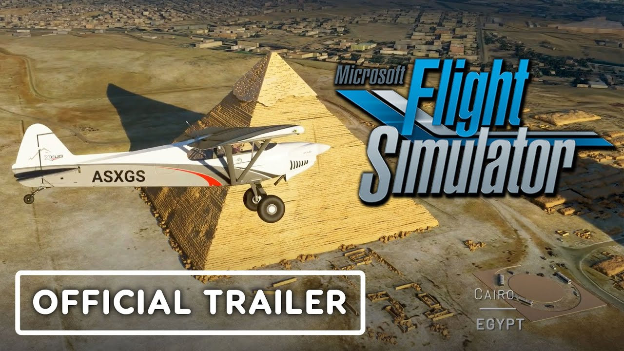 Microsoft Flight Simulator - Official Africa Trailer - IGN