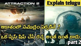 Attraction part 2 full movie explained in telugu by Explain telugu