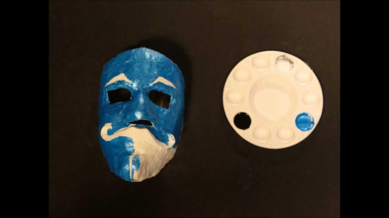 Como hacer una mascara youtube - Como hacer una mascara ...