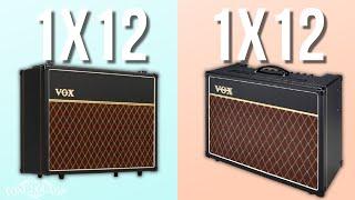 Vox AC15: 1x12 vs 2x12 cab