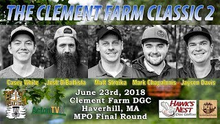 The Clement Farm Classic 2 - Final Round MPO Lead Card