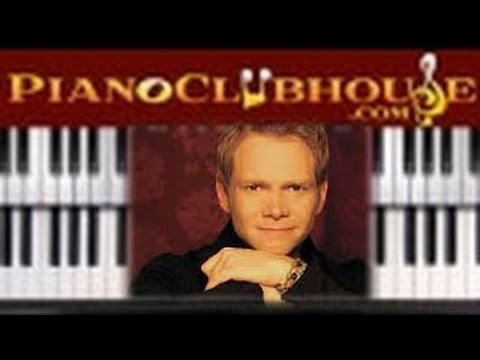 """♫ How to play """"LOVE TAKE ME OVER"""" by Steven Curtis Chapman (piano tutorial lesson)"""