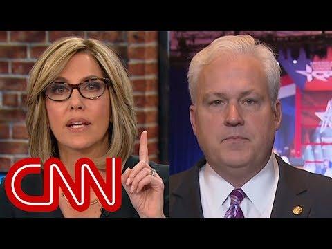 CNN anchor and conservative activist spar over NRA speech