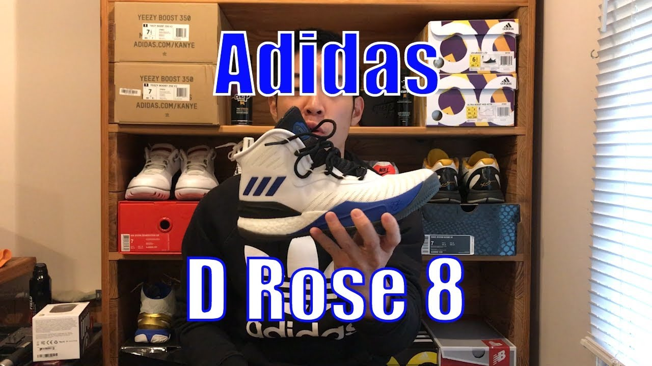 171005174f5 Adidas D Rose 8 Review - YouTube